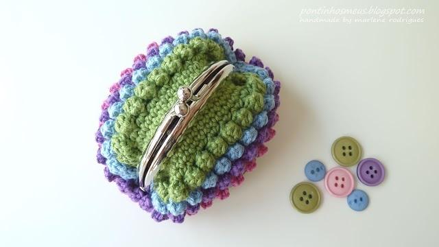 Crochet Coin Pouch Free Pattern : crochet coin purse Crafts Pinterest