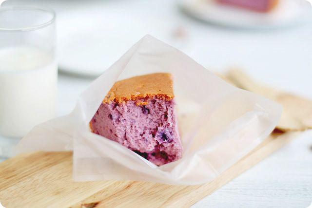 Purple Sweet Potato Chiffon | The Sweet {Smores}gasburg | Pinterest
