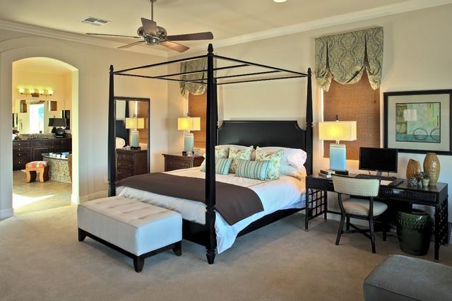 Desk As Nightstand For Work In Bedroom Bedrooms Pinterest