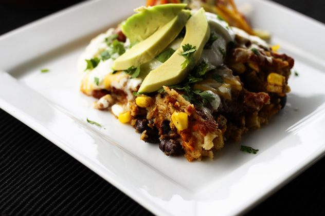 Slow Cooker Chicken and Black Bean Enchiladas. So simple, so good, so ...
