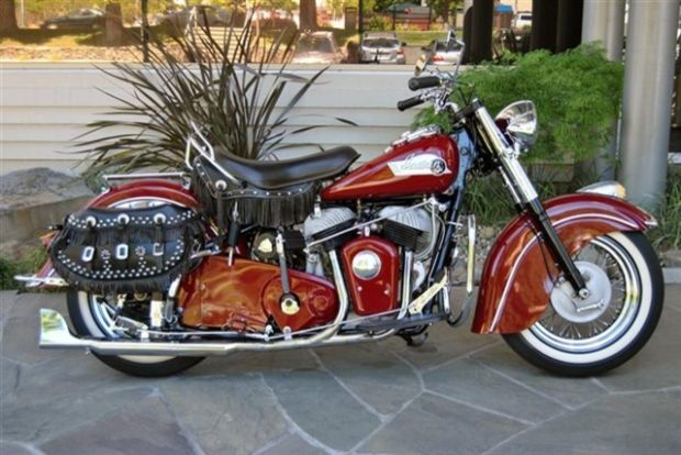 1953 indian chief for sale motorcycle review and galleries