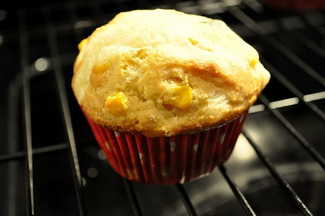 Corn Muffins with Poblano Peppers, Fresh Corn & Queso Fresco Cheese ...