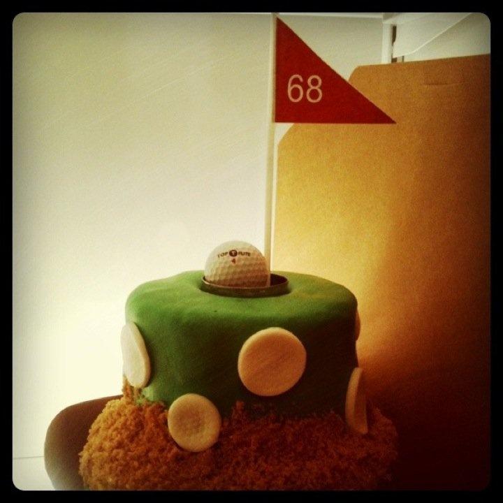 68th birthday cake