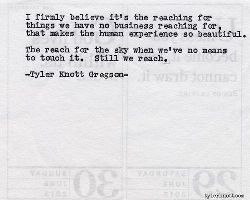 Typewriter Series #517by Tyler Knott Gregson