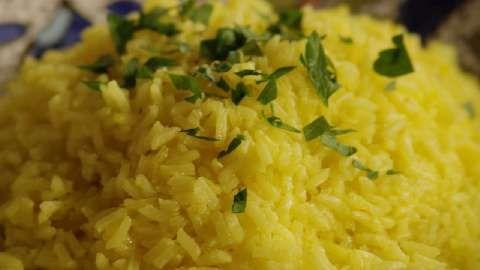 Indian Saffron Rice Allrecipes.com (better to use basmati, with stock ...