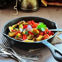 Grilled Ratatouille Pasta packed with plenty of nutrient rich ...