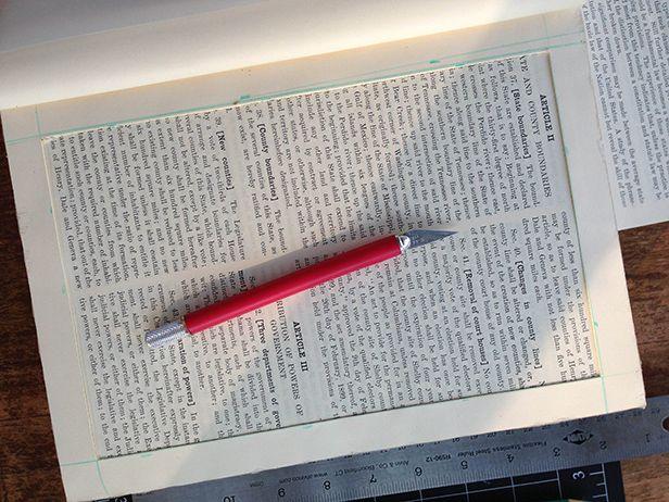 How to Make a Secret Book Box >> http://blog.diynetwork.com/maderemade/how-to/make-a-hollow-book-box?soc=pinterest