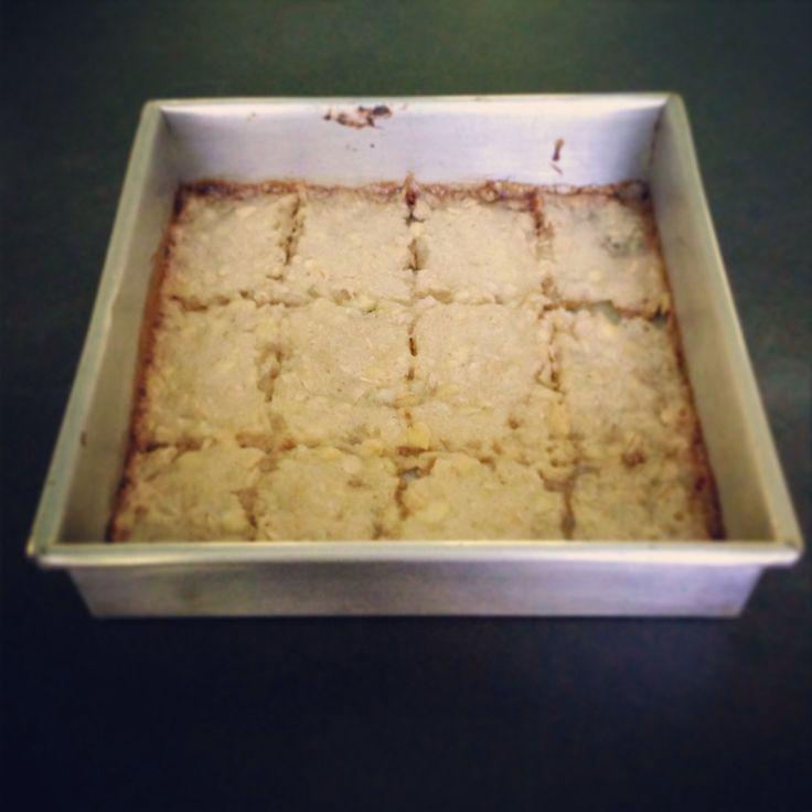 low calorie, fat free vegan lemon squares