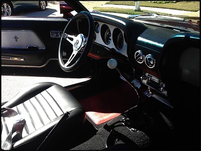 1969 Ford Mustang Fastback Interior My Dream Garage Pinterest
