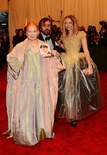 Vivienne Westwood at the Met Gala 2013