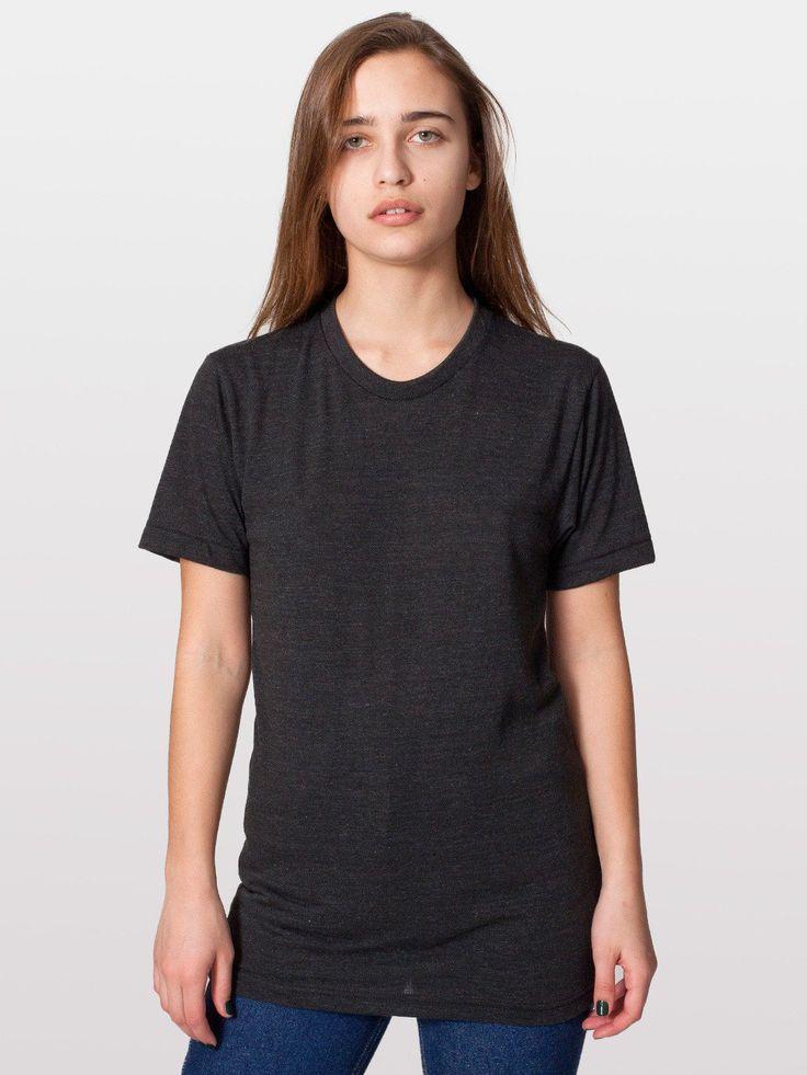 Unisex Tri-Blend Short Sleeve Track Shirt