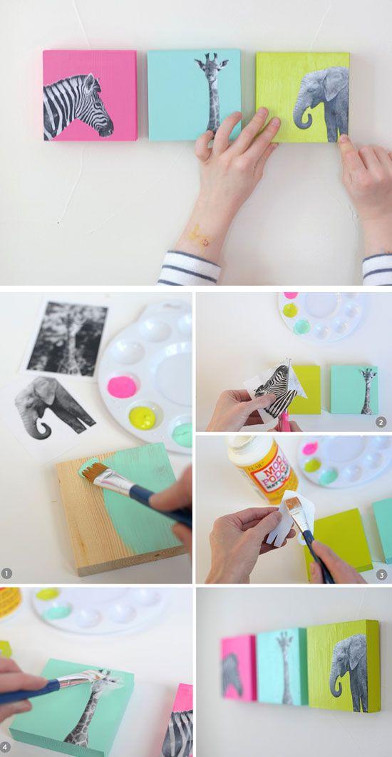 Сделай своими руками декор для комнаты своими руками