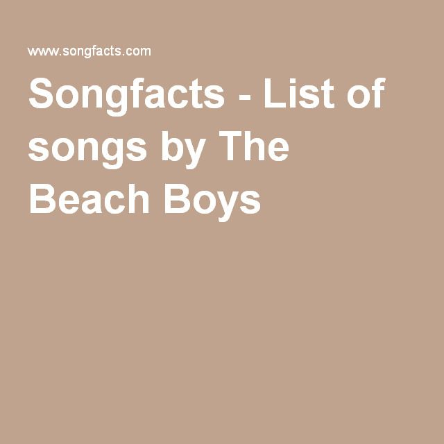 Songfacts