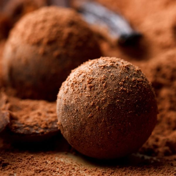 Homemade Truffles. | Healthy Food | Pinterest
