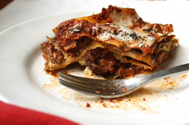 sausage and swiss chard lasagna | Yum! | Pinterest