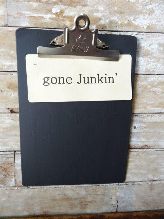 Chalkboard Clipboard | Make It n Take It Idea's | Pinterest