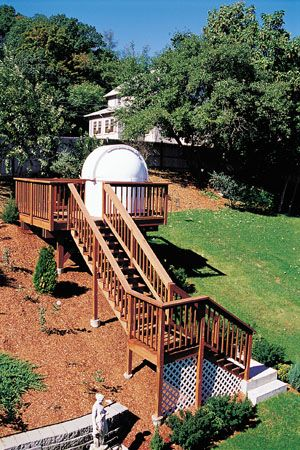 backyard observatory for the home pinterest