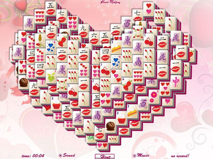 valentine day mahjong