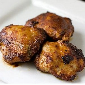 Spiced Honey Brushed Chicken Thighs And The 'Little Dipper Recipes ...