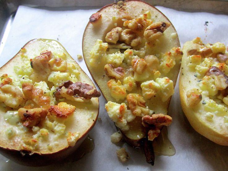 Honey Roasted Pear Salad | food | Pinterest