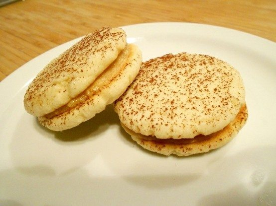 Tiramisu Sandwich Cookies | sweets | Pinterest