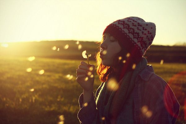 Girl blowing bubbles. #golden hour #photography