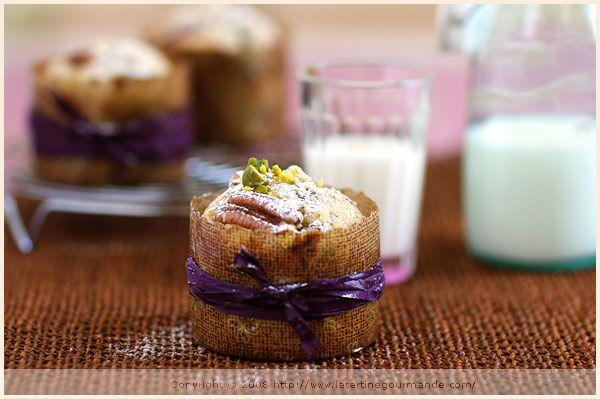 Chocolate, pistachio and pecan muffins   Deliciouz!   Pinterest