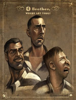 o brother where art thou poster  Brother, Where Art Thou (2000)...