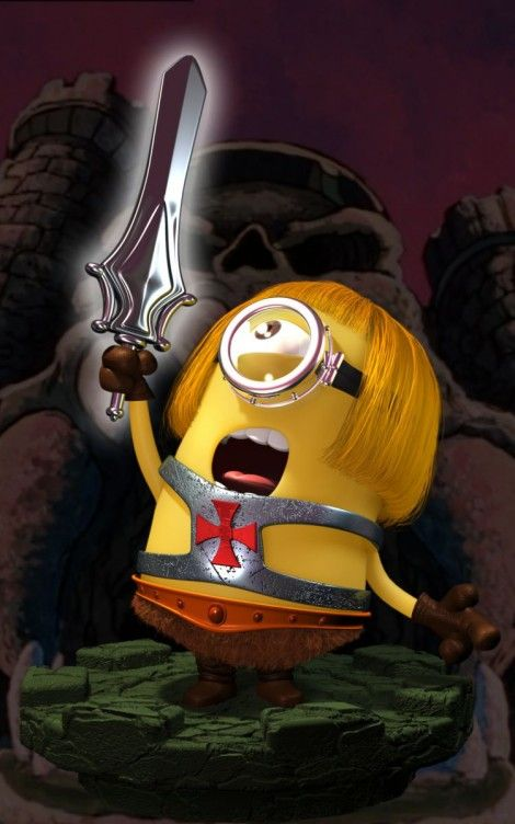 minions mashups he man 470x752 40 Eye Popping Mashups of Minions