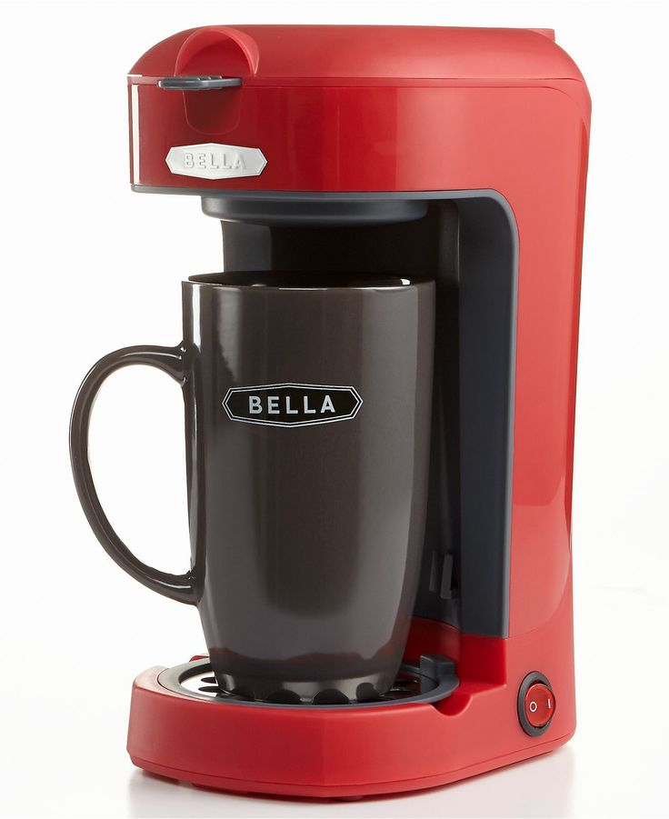 How Many Scoops In Coffee Maker : Bella Scoop Single Serve One Cup Coffee Maker