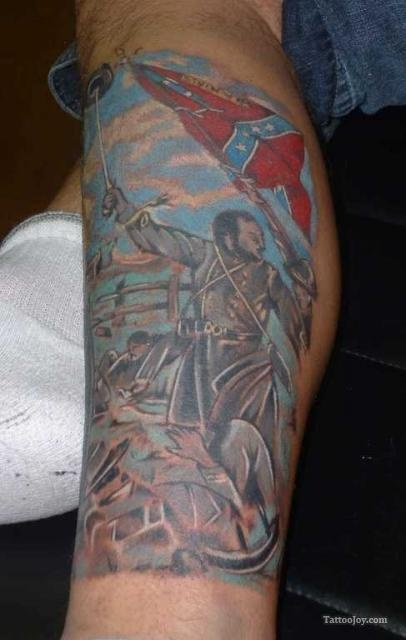 american civil war tattoo tattoos pinterest. Black Bedroom Furniture Sets. Home Design Ideas