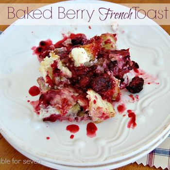 Baked+Berry+French+Toast+#SundaySupper