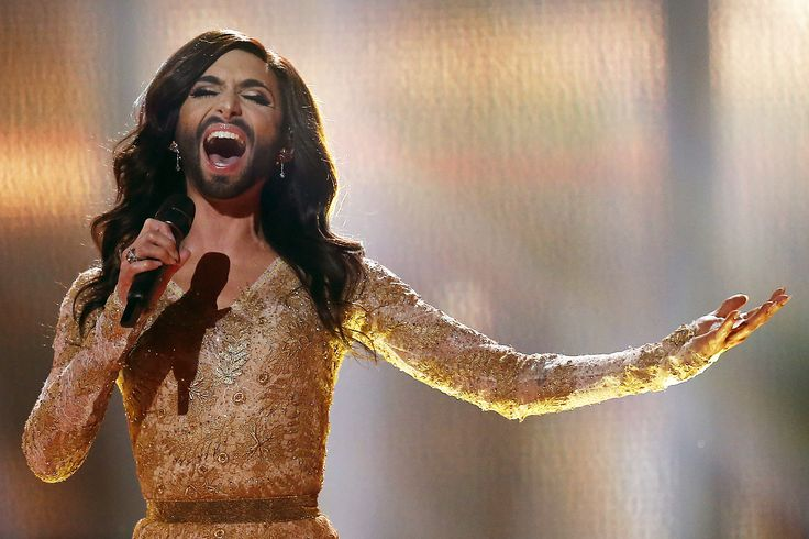 eurovision drag queen singing