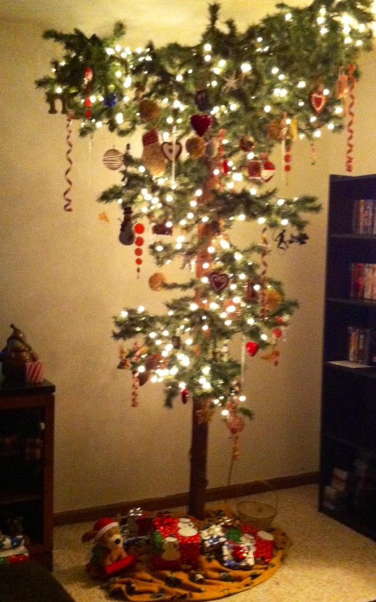 Upside Down Christmas Tree Christmas Pinterest