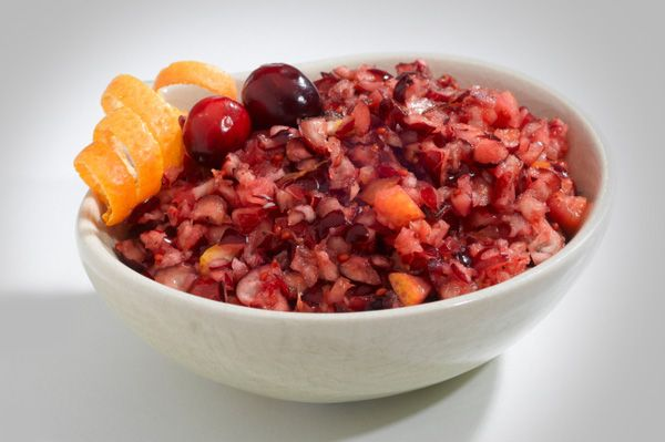 Cranberry salsa | Dips | Pinterest