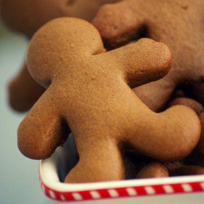 Low-Fat Gingerbread Cookies | lowfat | Pinterest