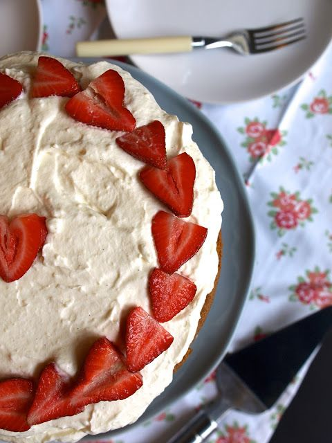 strawberry buttermilk cake | Eat, Drink & Be Merry... | Pinterest