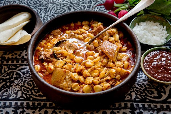 Recipe: Holiday posole. Photo: Stephen Scott Gross for The New York ...
