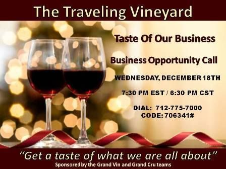 traveling vineyard become independent wine consultant