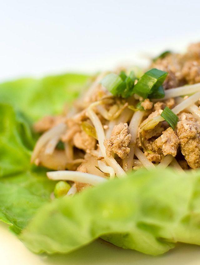 Chicken Lettuce Wraps | Good Food, Chicken | Pinterest