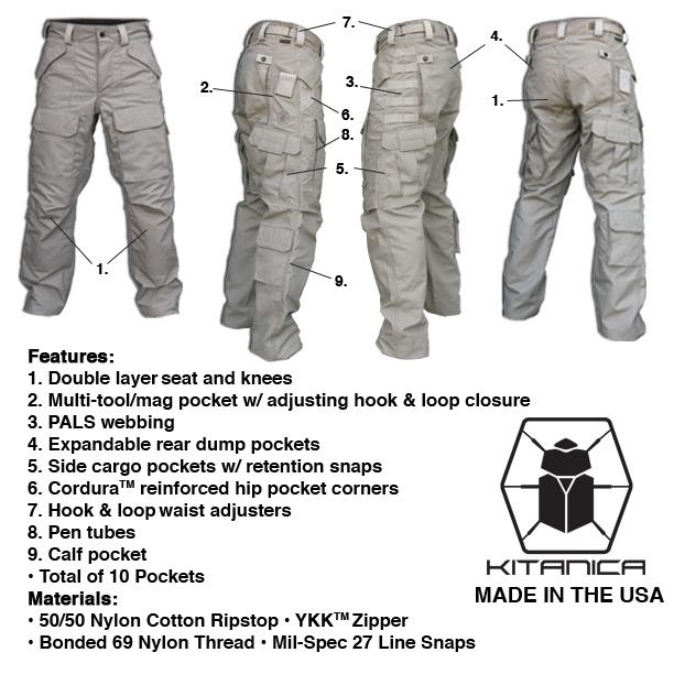 Тактические брюки своими руками 1
