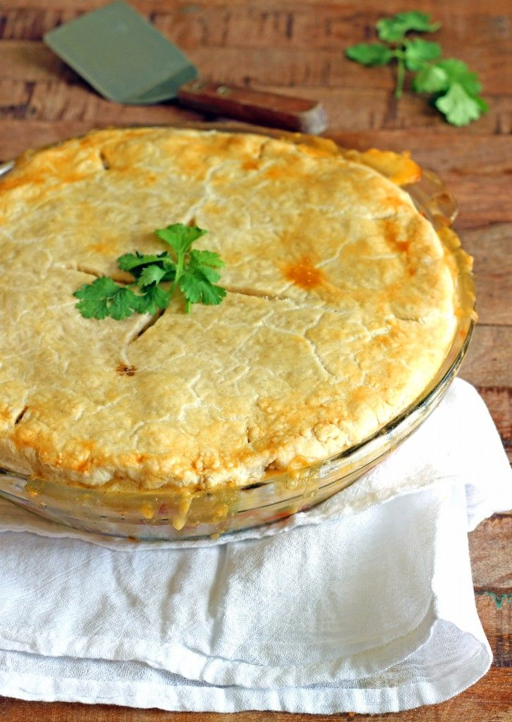 Ham and Mashed Potato Pot Pie | Recipe