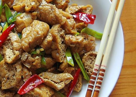 Hunan-Style Braised Fried Tofu | Mangiare! | Pinterest
