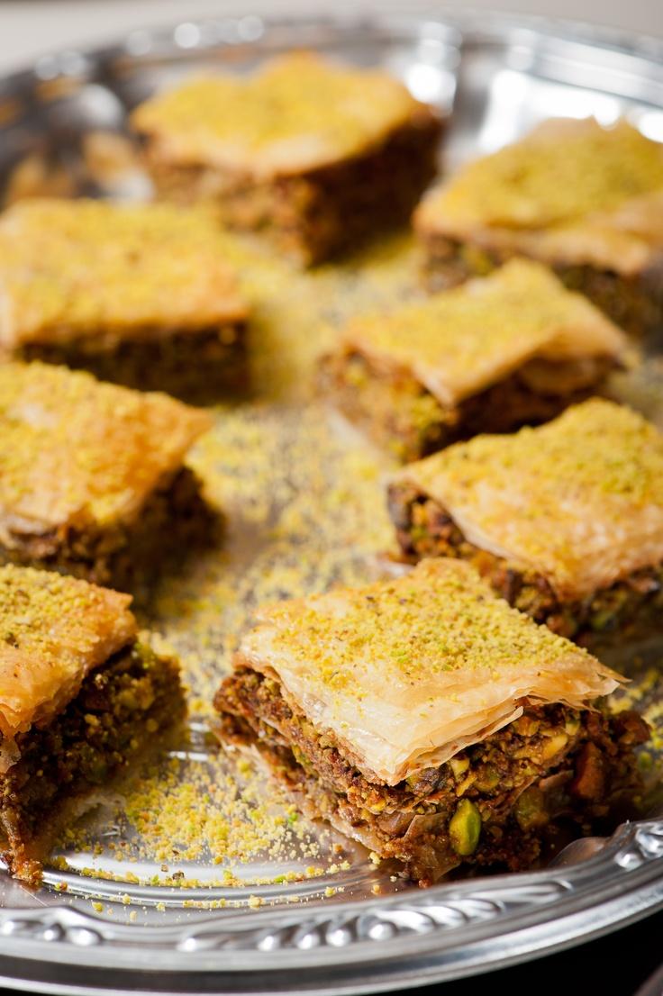 Pistachio Baklava | Traditional Baklava | Pinterest