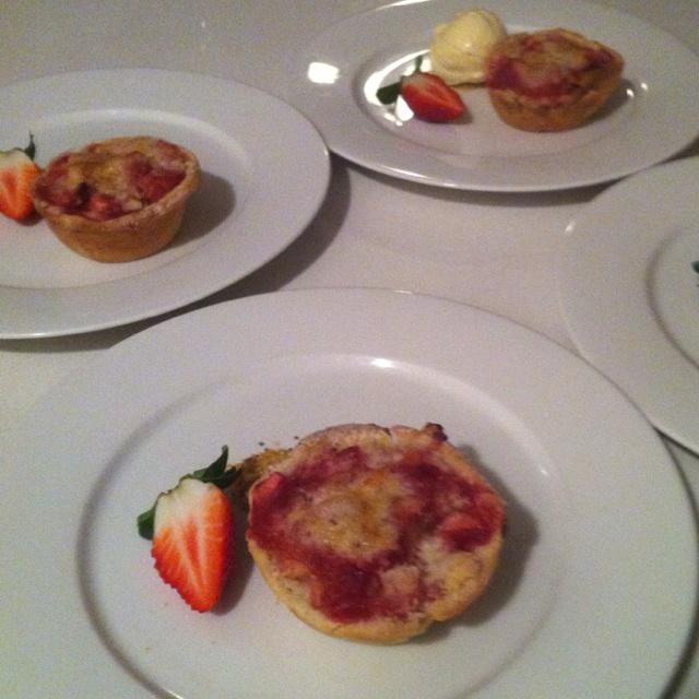Strawberry Rhubarb & Cream Tart Estonia Recipe — Dishmaps