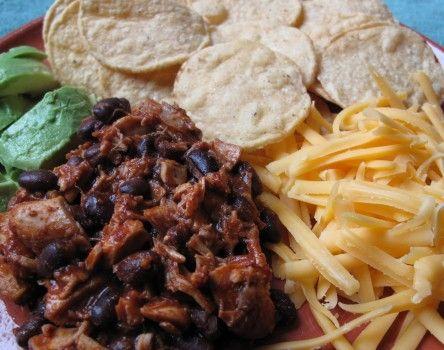 Chicken and Black-Bean Nachos | Nachos | Pinterest