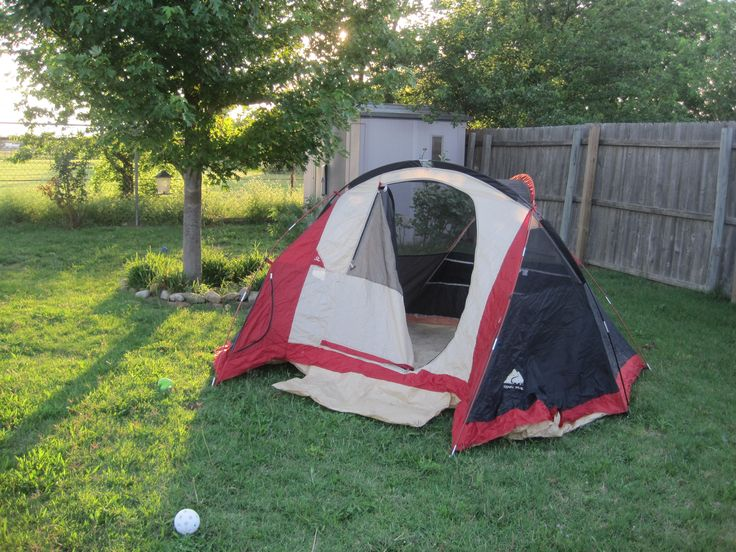 Tent Camping In Backyard : More like this backyard camping , camping and backyards