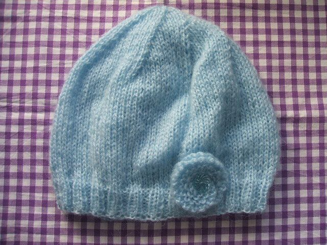 Knitting Pattern Hat Size 9 Needles : 2 needle knitted hat patterns Knit stuff Pinterest