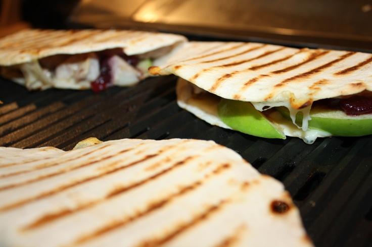 Turkey, Apple & Swiss Quesadillas! Yum! | CookWithKenyon Recipes | Pi ...