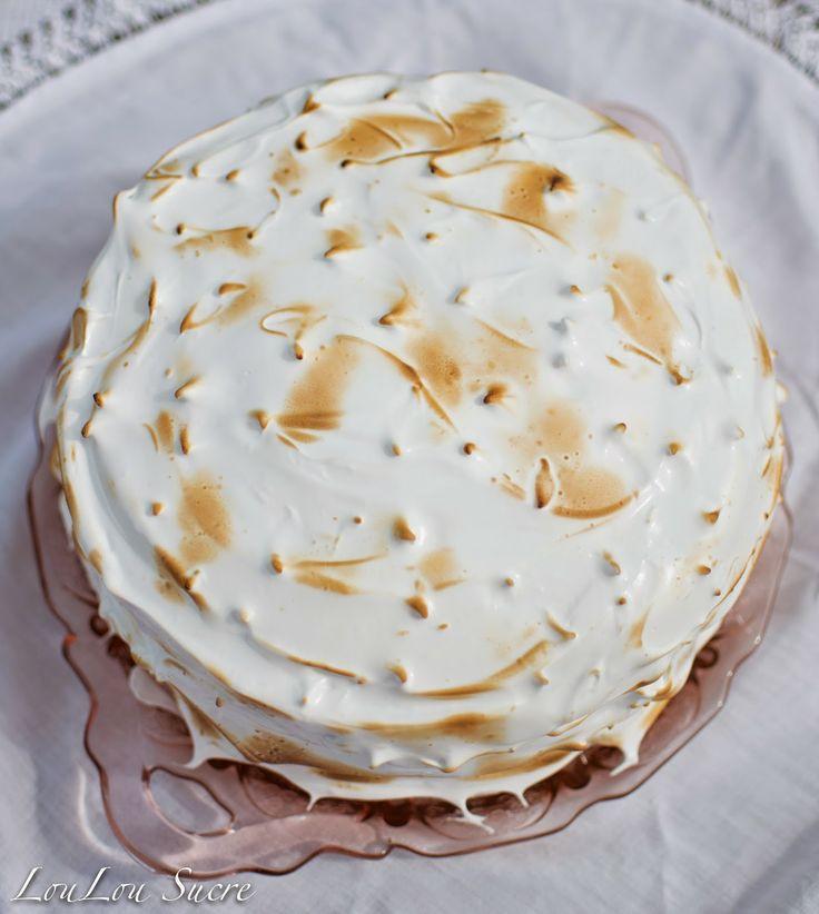 Coconut Cream Meringue Cake | Cake Recipes | Pinterest